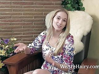 Blonde Hairy Muff